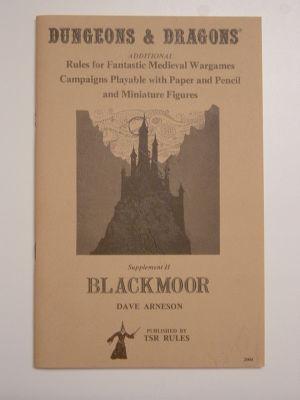 Supplement II: Blackmoor