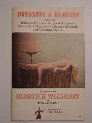 Supplement III: Eldritch Wizardry
